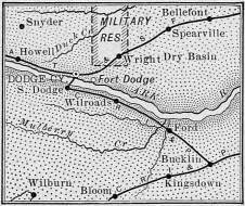 Ford County Map of 1889