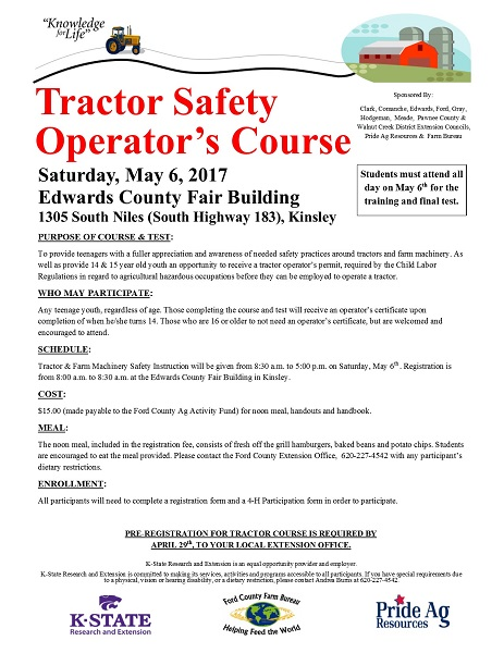 Tractory Safety Flyer