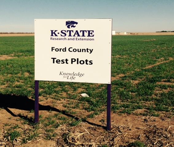 wheat plot sign 2015
